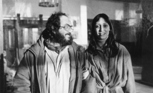 """Let's see if Shelley Duvall is still smiling after the 127th take."" - Stanley Kubrick"
